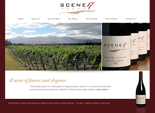 NEW ZEALAND WINERY WEBSITE, CONTENT MANAGEMENT