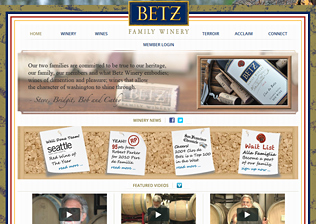 WINERY WEBSITE, ECOMMERCE, CONTENT MANAGEMENT