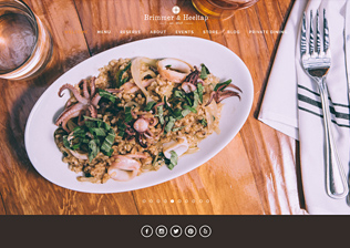 RESTAURANT WEBSITE, CONTENT MANAGEMENT, ECOMMERCE
