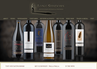 WINERY WEBSITE, CONTENT MANAGEMENT