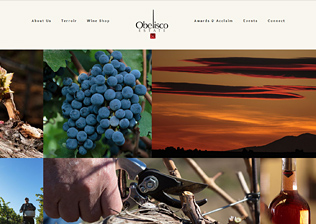 WINERY WEBSITE, CONTENT MANAGEMENT, EMARKETING
